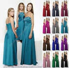 Long sequins beads party prom bridesmaid communion evening ballgown dress gown
