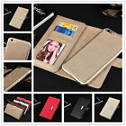 Luxury Leather Magnetic Detachable Wallet Card Case Cover For Samsung Galaxy