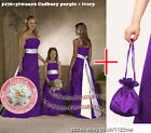 Dolly bag Long party prom bridesmaid communion evening ball pageant dress gown