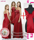 Shawl sequins beads party prom bridesmaid communion evening ballgown dress gown