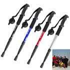 New Durable Adjustable AntiShock Trekking Hiking Walking Pole Cane Stick Crutch
