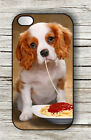 DOG CUTE TRAMP WAITING FOR LADY CASE FOR iPHONE 4 5 5C 6 -ojk8Z