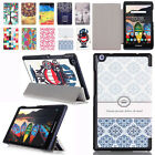 Ultra Slim Folio Wake Sleep Smart Leather Case Cover Stand For Lenovo Tablets
