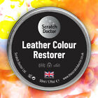 50ml Leather Dye Colour Restorer. For Faded and Worn Leather Shoes Handbags etc.