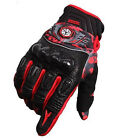 Carbon Fiber Protective Motorcycle Motocross Riding MTB Cycling Bicycle Gloves