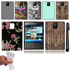 For BlackBerry Passport Q30 Design TPU SILICONE Rubber Case Phone Cover + Pen