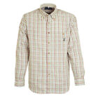Percussion Checked Shirt Maroon and Blue - Men's Hunting Country All Sizes New
