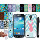For Samsung Galaxy S4 mini I9190 TPU Gel SILICONE Rubber Soft Case Cover + Pen