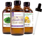4 oz Essential Oil with Glass Dropper, Free Shipping, 49 Oils to Choose from