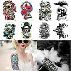 Multiple Styles Waterproof 3D Temporary Tattoos Large Arm Leg Transfer Stickers