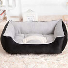 Multi Sizes Soft Extra Large Puppy Dog Cat Pet Sofa Bed Basket Waterproof Black