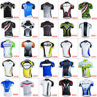 New Road Bike Men's Cycling Short Sleeve Jerseys Tops T-shirt Bicycle Clothing