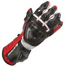 Spada Curve Men's Leather Racing Motorbike Motorcycle Knuckle Protection Gloves