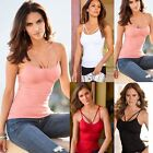 Fashion Women Summer Halter Vest Sleeveless Blouse Casual Tank Tops T-Shirt NW
