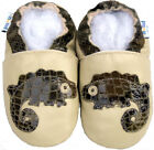 Soft Sole Leather Baby Shoes Boy Girl Infant Toddler Moccasin Crib Booties 0-3Y