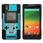 For ZTE ZMAX Z970| Hybrid Hard Bumper Stand Case Gaming