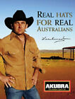 Akubra  Lee Kernaghan Outback Club Felt Hat - black