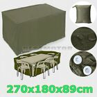 Waterproof Outdoor Garden Bench Furniture Protective Patio Tables &Chairs Cover
