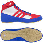 Adidas HVC 2 Laced Wrestling Shoes - Blue/Red/White