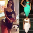 Women's Sexy Summer Bandage Slim Evening Party Cocktail Short Mini Dress EA