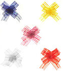 Gifts Party Wedding - 10 x LARGE ORGANZA PULL BOWS 30x100mm - Choice Of Colour