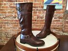 Bare Traps Brown Buckle Detail Redford Riding Boot NEW