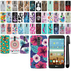 For LG K7 Tribute 5 LS675 MS330/ M1 PATTERN HARD Back Case Phone Cover + Pen
