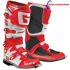 NEW 2016 GAERNE SG12 MOTOCROSS BOOTS RED WHITE ALL SIZES