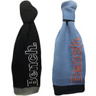 Mens Scarf Bench Scarves One Size Neck Warmer Winter Navy Black Grey New