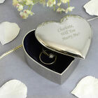 Personalised Engraved Heart Trinket - Wedding, Anniversary, Retirement
