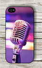 MICROPHONE VINTAGE PROFESSIONAL MUSICIAN CASE FOR iPHONE 4 5 5C 6 -jhg2Z