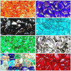 1000 Glass Pebbles Nuggets Colour Stones Vase Fish Garden Path Wedding 7KG