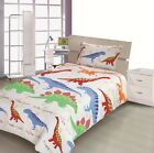 SINGLE, DOUBLE & COT Bed Size Children's Kids Design Duvet Cover Set or Curtains