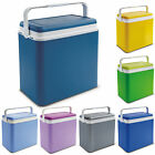 Large 24 Litre Cooler Box Camping Beach Lunch Picnic Insulated Food Ice Packs