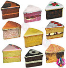 VINTAGE RETRO GOOD ENOUGH TO EAT CAKE SLICE STORAGE TIN CONTAINER