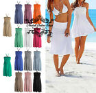 vestiti donna gonna Women 3in1 Bikini Bandeau Dress Swimwear Beach Skirt D612