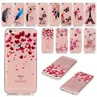 Soft TPU Transparent Rubber Silicone Back Case Cover For Apple iPhone 6 6S Plus
