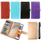 For Samsung Galaxy Core Prime G360 Magnetic Card Holder Wallet Cover Case + Pen
