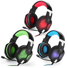 KOTION EACH G1000 LED Gaming Headset 3.5mm Stereo Headphone for PC Laptops Games