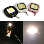 3.5mm 16 LED Camera Smart Selfie Fill Light For IOS Android iPhone 5s/6//6 Plus