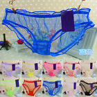 Sexy Ladies Briefs Panties Lace Thongs Transparent Underwear Lingerie Knickers