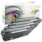 Set 4x Toner für HP Color Laserjet Pro 100 200 300 400 Enterprise 500 Reihen