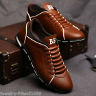 Men Fashion Genuine Leather Business Shoes Casual Hiking Travel Shoes