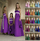 Maxi Long sash party pageant communion evening bridesmaid full dress ballgown