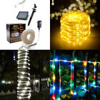 Solar Powered 75FT 200 LED String Fairy Lights Garden Outdoor Xmas Party Lamp