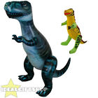 INFLATABLE 5FT 7IN DINOSAUR OR 43CM DINO FANCY DRESS PARTY ACCESSORY DECORATION