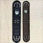 WEAVER FELT LINED STRAIGHT SMART HORSE CINCH GIRTH ROLL SNUG BUCKLE  BLACK BROWN