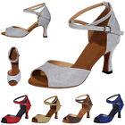 Women Open Toe Cross Strap Latin Dance High Heels Ladies Summer Shoes Sandals