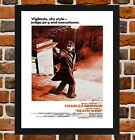 Framed Death Wish Charles Bronson Movie Poster A4 / A3 Size In Black Frame