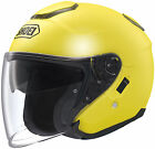 Shoei J-Cruise Open Face Helmet Brilliant Yellow